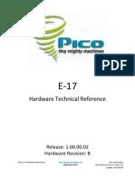 E-17 Rev B Hardware Reference - 1 0 0 2