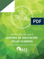 Aes - Control de Vegetacion en Las Ciudades