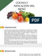 Cocina y Planificación Del Menú