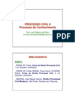 1 - Apresentação Processo Civil II
