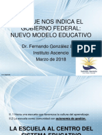 Exigencias Del Nuevo Modelo Educativo