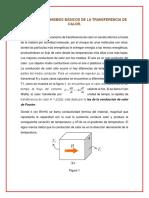 MECANISMOS BÁSICOS DE LA TRANSFERENCIA DE CALOR.