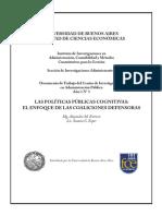 ESTÉVEZ ESPER_Las Políticas Públicas Cognitivas El Enfoque de Las Coaliciones Defensoras