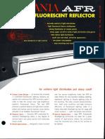 Sylvania AFR Aperture Fluorescent Reflector Spec Sheet 5-65