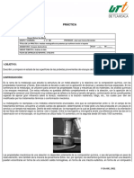 Practica Ensayo Metalurgico