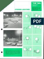 Sylvania BAL Batwing Area Luminaire Spec Sheet 6-72