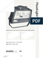 Sylvania FDL HID Floodlight Spec Sheet 1-87