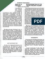 Revolutionary Bills of the Galvez Toscano Column
