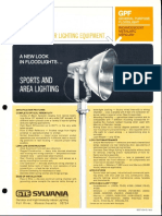 Sylvania GPF General Purpose Floodlight Spec Sheet 4-71