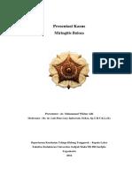 Presentasi Kasus Miringitis Bulosa