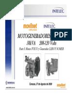 Curso de Motogeneradores GENESAL 50kVA Parte I Motor IVECO y Generador