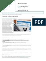 Cómo leer tu reporte de crédito | Clearpoint