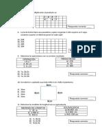 Prueba de Diagnostico Preguntas 7,8,9,10,11