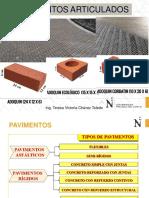 PAVIMENTOS ARTICULADOS()