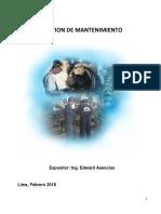 Gestion de Mantenimiento SENATI 2018 PDF