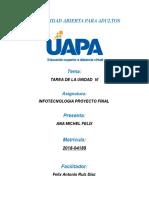 Proyecto Final Infotecnologia Ana