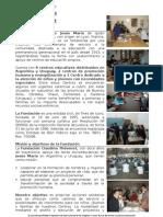Reseña Fundacion Claudina Thevenet 2008 sin  proyectos 2008