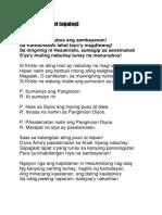 Exultet Tagalog