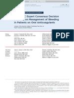 2017 ACC Expert Consensus Decision