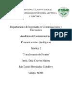 Práctica 2 - Comunicaciones Analógicas