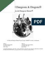 Advanced Dungeons & Dragons - Segunda Edición - Castellano - Guía del Dungeon Master