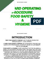 Sop Food Safety and Hygeine Vr PDF