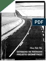 Livro Estradas de Rodagem Projeto Geométrico