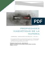 Propiedades Magneticas de La Materia