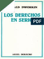 Dworkin Ronald - Los Derechos en Serio