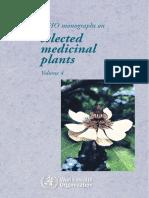 Selected Medicinal Plant Vol 4