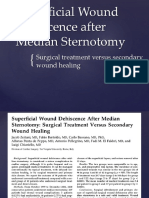 Thoracotomy Wound Dehiscence