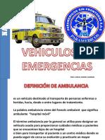 Vehiculos de Emergencias Psf