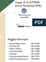 Penerapan Sistem Informasi DitPSMK
