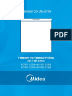 Manual Freezer Midea