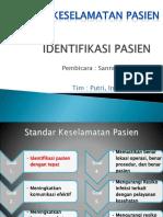 Identifikasi Pasien