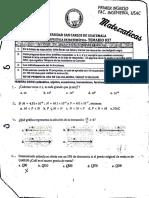 Prueba Específica de Matemática - Temario 37