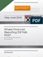 Where Financial Reporting Still Falls Short