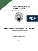 Reglamento General de La Unh