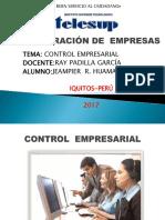 Diapositiva de Control Empresarial