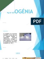 Criocirugía y Criogenia Terminado