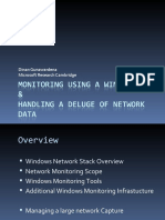Monitoring Using a Windows Box