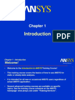 Ansys Training-Introduction