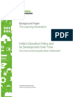 CPR_Working Paper on the Learning Generation India