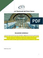 Relazione Guercio Su Acqua Gran Sasso