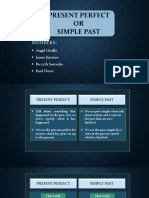 Presen Perfect or Simple Past