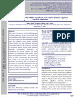 Antifungal Activity of Flavonoids of Sida Acuta Burm f Againstcandida Albicans
