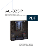 AC-825IP Hardware Installation and User Manual 200316