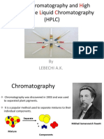 Chromatography HPLC