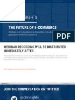 CB Insights Future of Ecommerce