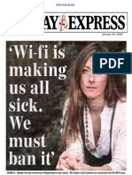 Sunday Express WiFi is Making Us All Sick We Must Ben It 04012009